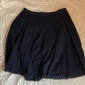 Pleated Lands' End Skirt